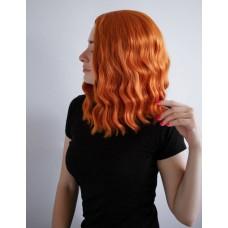 Перука хвилясте волосся руда ( 3024 )