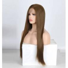 Перука русява на сітці імітація росту волосся ( 0816 )