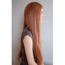 Рудо руса перука рівне довге волосся ( 0421 )