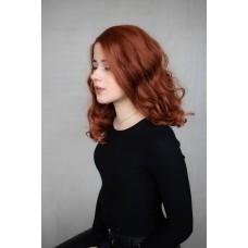 Рыжий парик на сетке средняя длина волна ( 1330 )