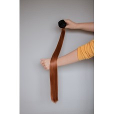 Комплект накладного волосся треси на кліпсах руді ( 30J )