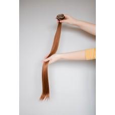 Волосы на клипсах золотисто коричневые ( 27 )