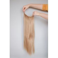 Волосы на заколках затылочная тресса пепельный блонд ( 16 )