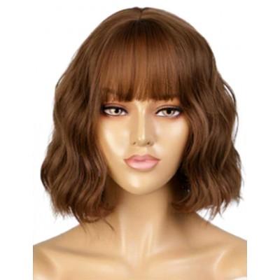 Коричневый парик ( 2306 )